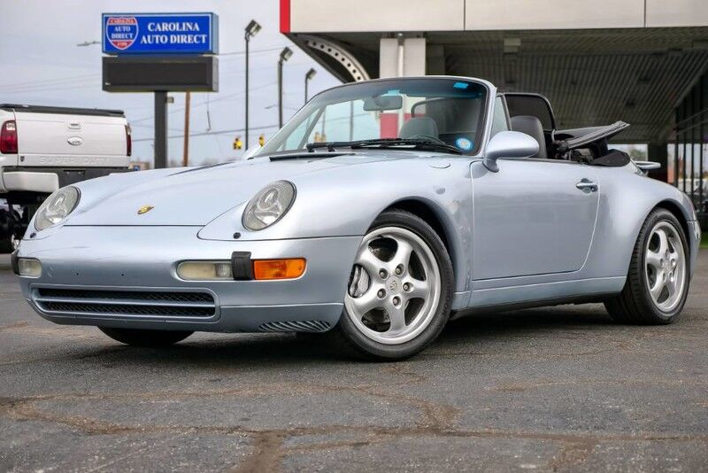 1996 Porsche 911 Carrera 2 Cabriolet **993**LOW MILES** Tiptronic w/ Heated Seats Mooresville NC
