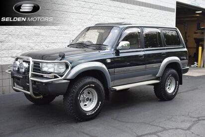 1996 Toyota Land Cruiser 80 VX Limited Turbo Diesel