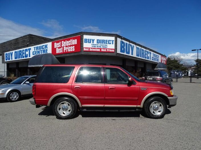 1997 Ford Expedition Eddie Bauer, Spacious SUV, Perfect for Camping, Hitch Hook-up Kelowna BC