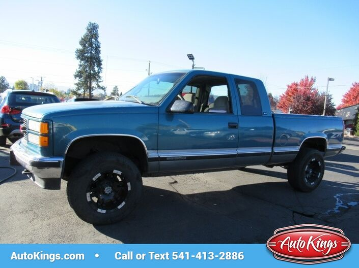1997 GMC Sierra 1500 Ext Cab 141.5  WB 4WD Bend OR