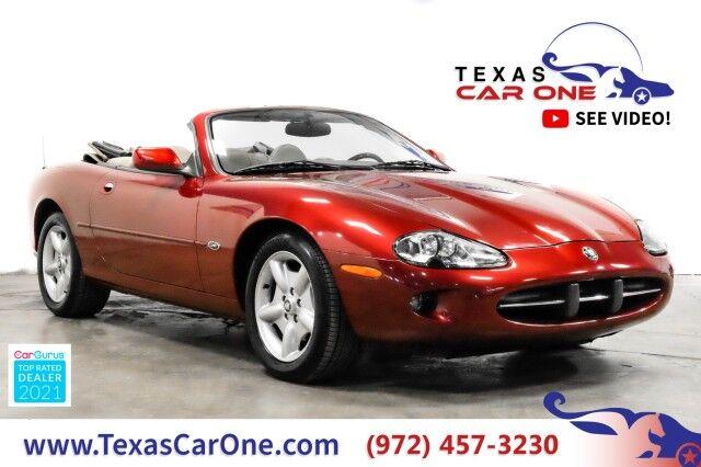 1997 Jaguar XK8 AUTOMATIC LEATHER HEATED SEATS DUAL POWER SEATS CRUISE CONTROL ALLOY WHEELS Carrollton TX