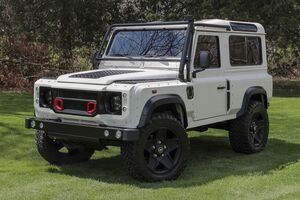 1997_Land Rover_Defender 90_Khan Wide Body_ Akron OH