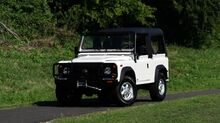 1997_Land Rover_Defender 90_NAS SOFT-TOP / 4x4 / FRAME OFF RESTORATION_ Charlotte NC