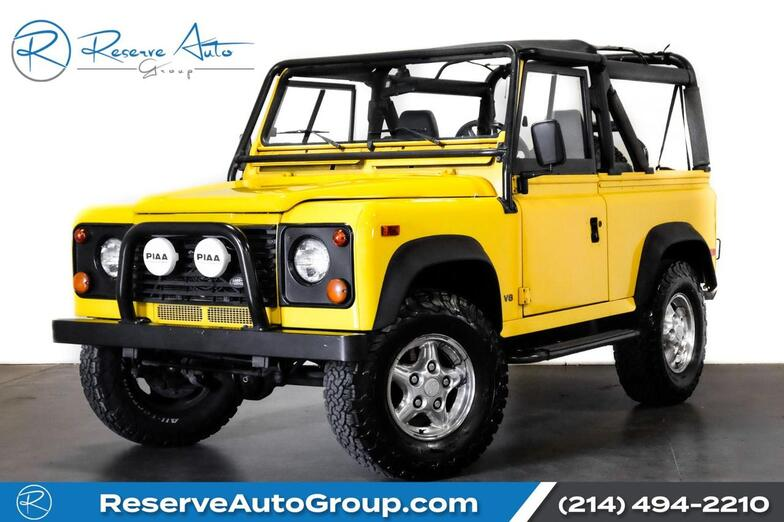 1997 Land Rover Defender 90 SoftTop Automatic The Colony TX
