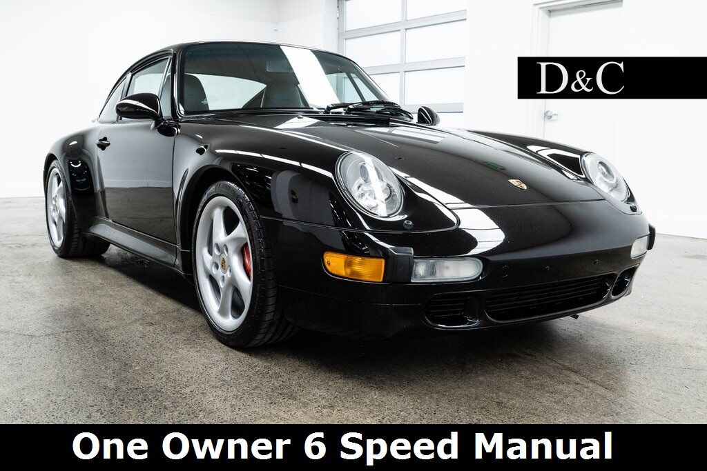 1997 Porsche 911 Carrera 4S One Owner 6 Speed Manual Portland OR