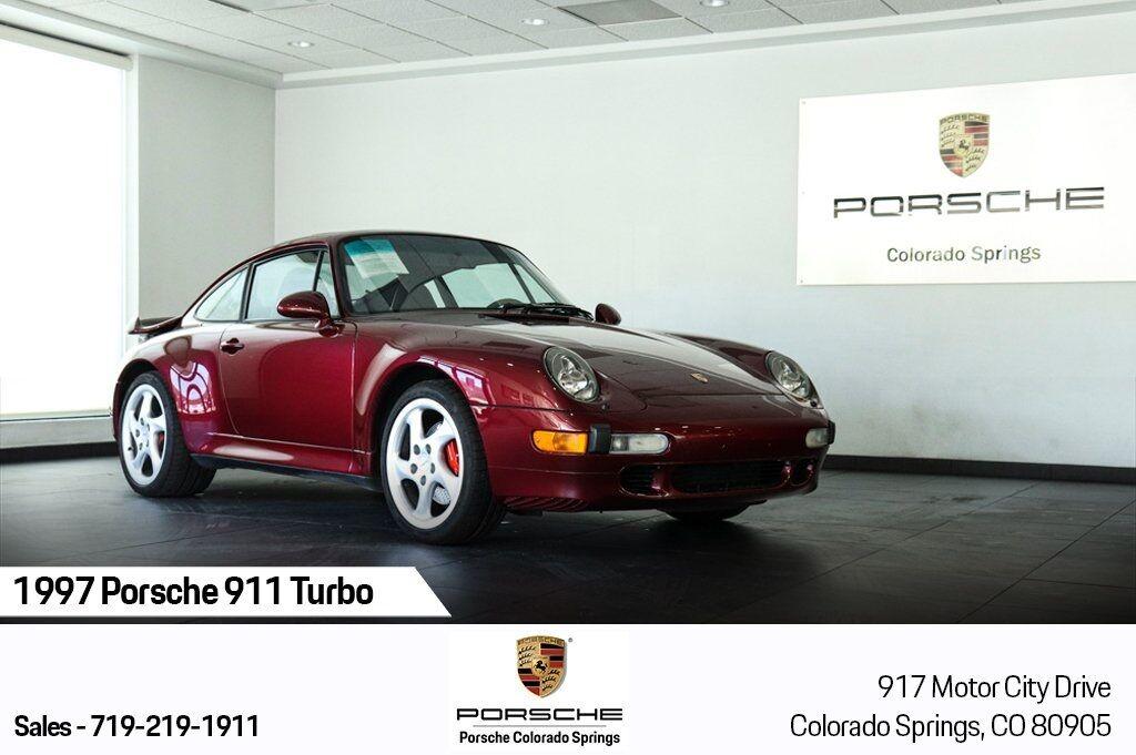 1997 Porsche 911 Turbo Colorado Springs CO