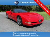 1998 Chevrolet Corvette ** Only 33,302 Miles ** 6-Speed Manual **
