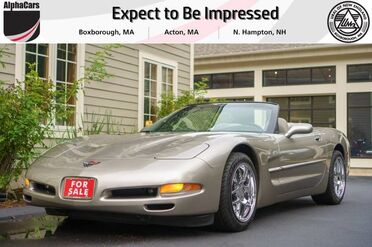 1998_Chevrolet_Corvette_Convertible_ Boxborough MA