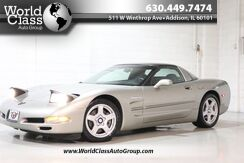 1998_Chevrolet_Corvette_LOW MILES SUPER CLEAN LEATHER INTERIOR MOON ROOF COLOR MATCHED ROOF CUSTOM EXHAUST LEATHER SEATS BOSE AUDIO FAST_ Chicago IL