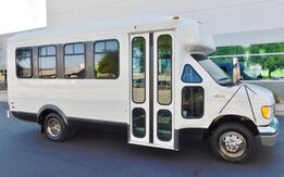 1998_Ford_E350 14 PASSENGER BUS LOW 40K MILES_1 AZ CHURCH OWNER REAR A/C HEAT LIKE NEW_ Phoenix AZ