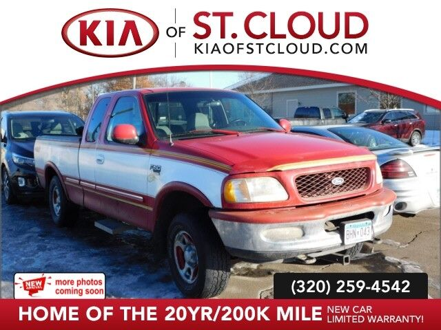 1998 Ford F-150 SUPERCAB 139  4WD XLT St. Cloud MN