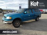 1998 Ford F-150 Series XLT, Canopy, Hitch, V8 4X4