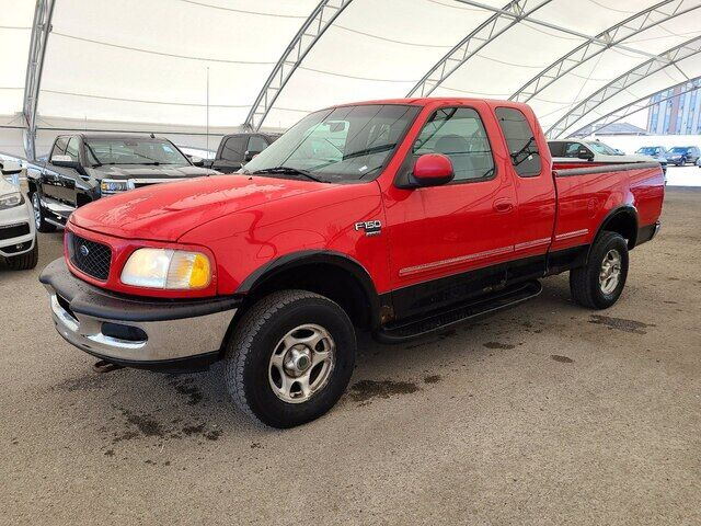 1998 Ford F150 PICKUP MECHANICS SPECIAL / LOW KMS / 1 OWNER Calgary AB