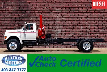 1998_Ford_F800_Cab & Chassis Danco 706 Crane_ Red Deer AB