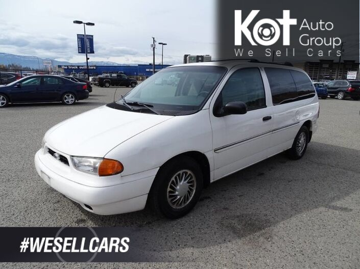 1998 Ford Windstar GL, (PARTS ONLY) Kelowna BC