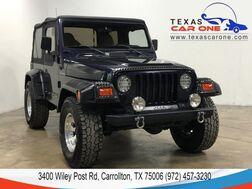 1998_Jeep_Wrangler_SE 4WD SOFT TOP CONVERTIBLE ALLOY WHEELS TOWING HITCH_ Carrollton TX