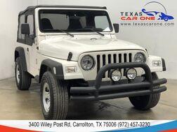 1998_Jeep_Wrangler_SE 4WD SOFT TOP CONVERTIBLE TOWING HITCH_ Carrollton TX
