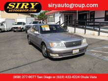 1998_Lexus_LS 400 Luxury Sdn__ San Diego CA