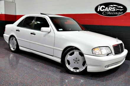 1998_Mercedes-Benz_C43_C55 AMG Supercharged 4dr Sedan_ Chicago IL