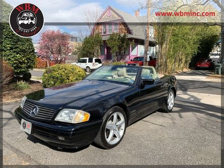 1998_Mercedes-Benz_SL500_Roadster_ Arlington VA