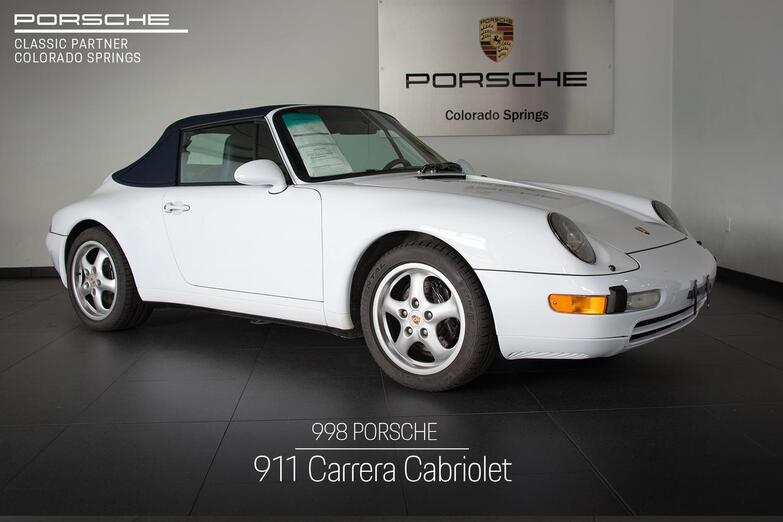 1998 Porsche 911 911 Carrera Cabriolet Colorado Springs CO