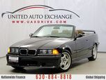 1999 BMW 3 Series M3 Convertible With Manual Transmission & Power Seats
