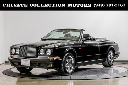 1999 Bentley Azure Mulliner Wide Body Clean Carfax  Costa Mesa CA
