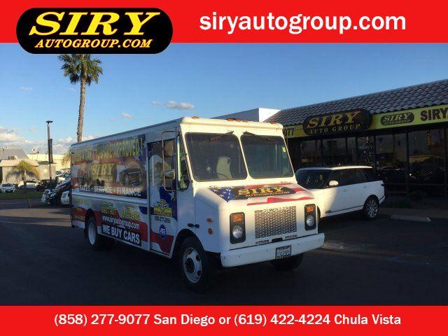 1999 Chevrolet Commercial Step Van Grumman Olson San Diego CA