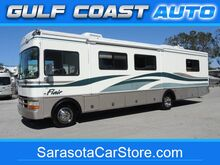 1999_Ford_F-550 MOTORHOME_RV LOW MILES 36FT FLAIR SLIDE OUT COLD AC RUNS GREAT_ Sarasota FL