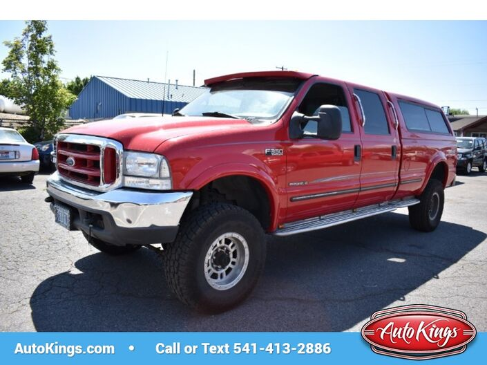1999 Ford Super Duty F-350 SRW Crew Cab 172  Lariat 4WD Bend OR