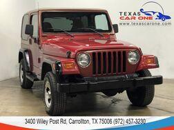 1999_Jeep_Wrangler_SPORT 4WD HARDTOP CONVERTIBLE RUNNING BOARDS TOW HITCH_ Carrollton TX