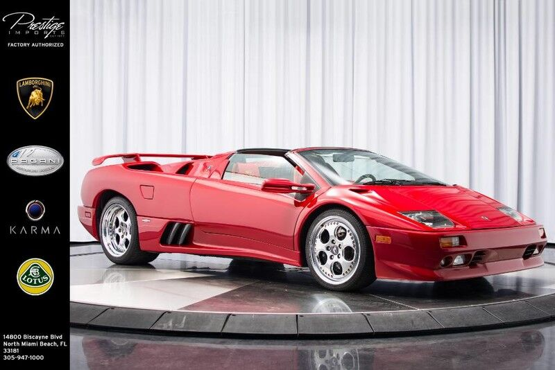 1999_Lamborghini_Diablo_VT Roadster Momo Edition_ North Miami Beach FL