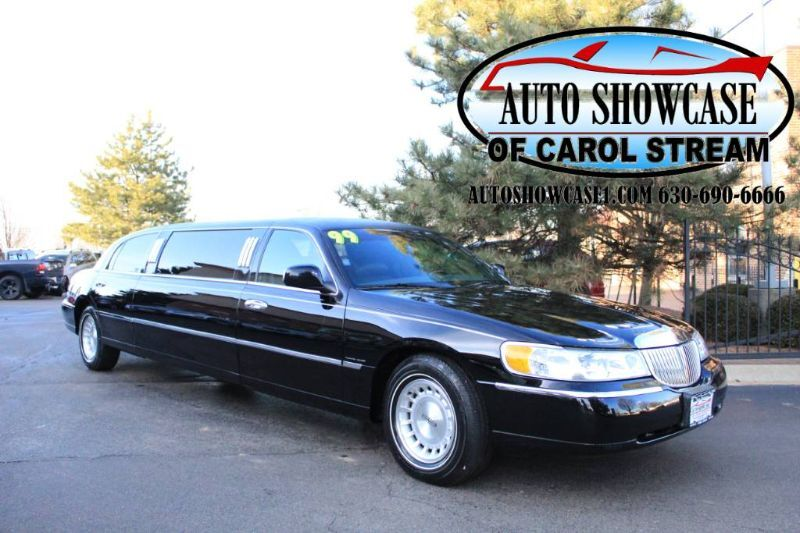 1999 Lincoln Town Car Executive Limo with only 19K Carol Stream IL