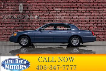 1999_Lincoln_Town Car_Signature Leather Heated Seats_ Red Deer AB
