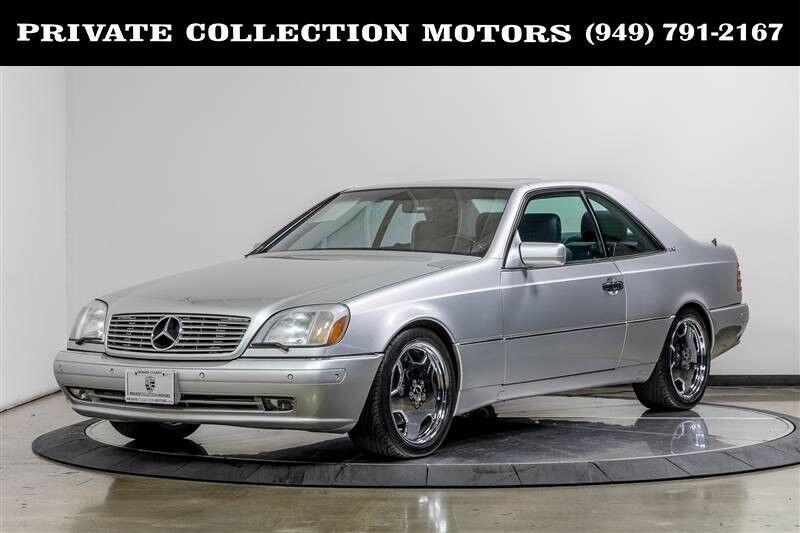 1999_Mercedes-Benz_CL-Class_CL600 1 Owner Clean Carfax_ Costa Mesa CA