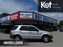 1999_Mercedes-Benz_M Class_Heated Leather Seats, Sunroof, Power Locks, Windows, and Front Seats_ Kelowna BC