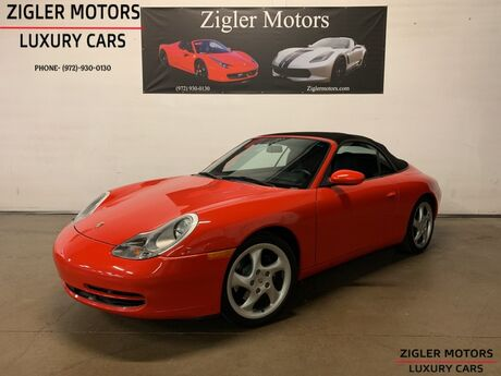 1999 Porsche 911 Carrera Cabriolet 6-Speed Manual Full Power Soft Top Clean Carfax Addison TX