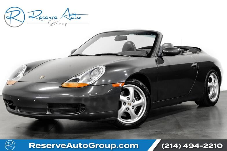 1999 Porsche 911 Carrera Cabriolet Pwr Seat Pkg Hi-Fi Audio Special Order Paint The Colony TX