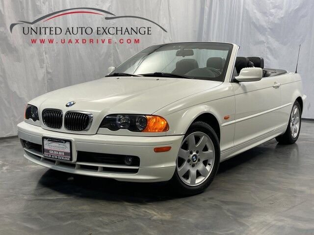 2000 BMW 3 Series 323Ci / 2.5L 6-Cyl Engine / RWD / Soft Convertible Top Addison IL