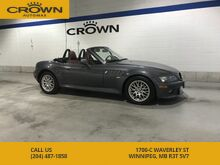 2000_BMW_Z3 Series_Z3 Convertible **Red Interior** Great History** Show Room Condition**_ Winnipeg MB