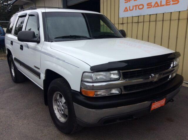 2000 Chevrolet Tahoe 4WD Spokane WA