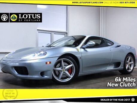 2000_Ferrari_360 MODENA_Only 6K Miles Recently Serviced_ Portland OR