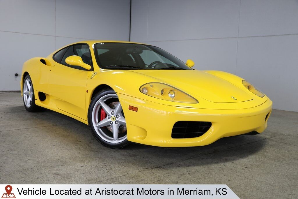 2000 Ferrari 360 Modena Berlinetta Merriam KS