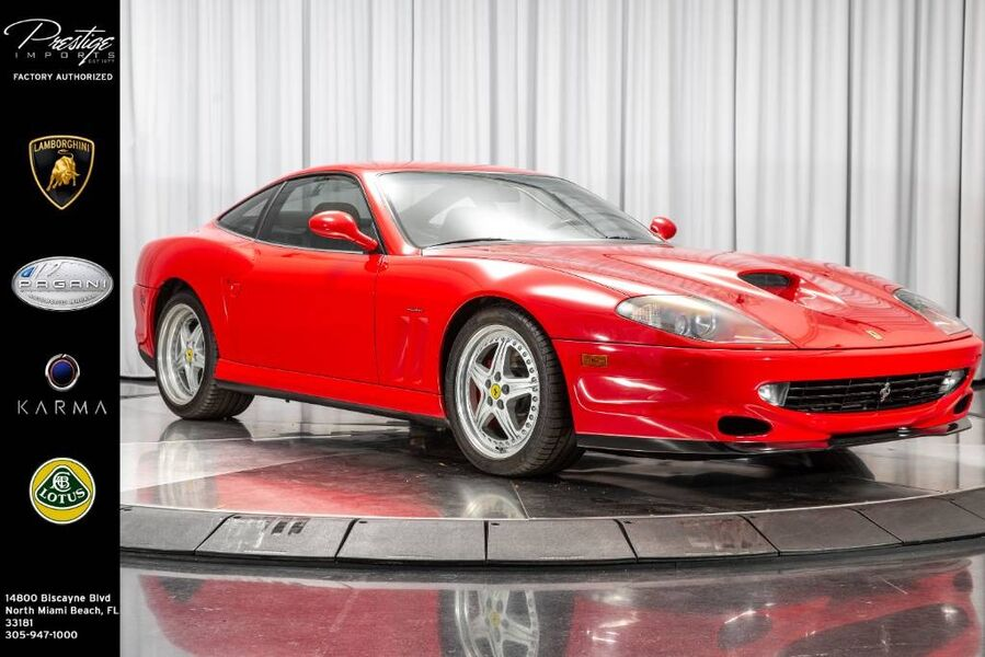 2000_Ferrari_550 Maranello__ North Miami FL