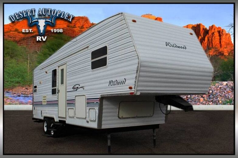 2000 Forest River Wildwood 27RKSS Single Slide Fifth Wheel RV Mesa AZ