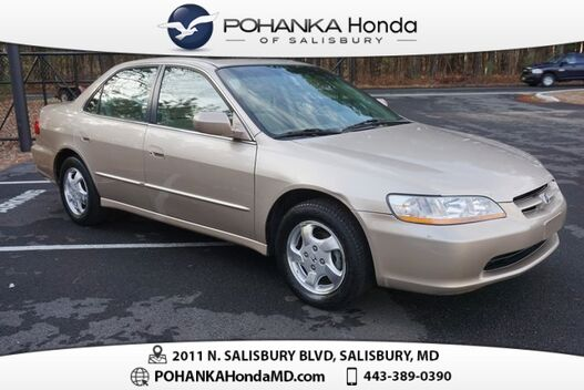 2000_Honda_Accord_EX ** SUNROOF ** MARYLAND STATE INSPECTED **_ Salisbury MD
