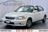 2000 Honda Civic 1.6L Engine FWD EX w/ Sunroof, Power Locks & Windows