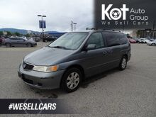 2000_Honda_Odyssey_EX, NEW Windshield, Two Captain seats and Bench Seating_ Kelowna BC