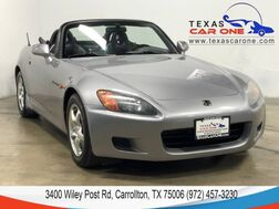 2000_Honda_S2000_LEATHER SEATS CRUISE CONTROL STEERING WHEEL CONTROLS ALLOY WHEEL_ Carrollton TX