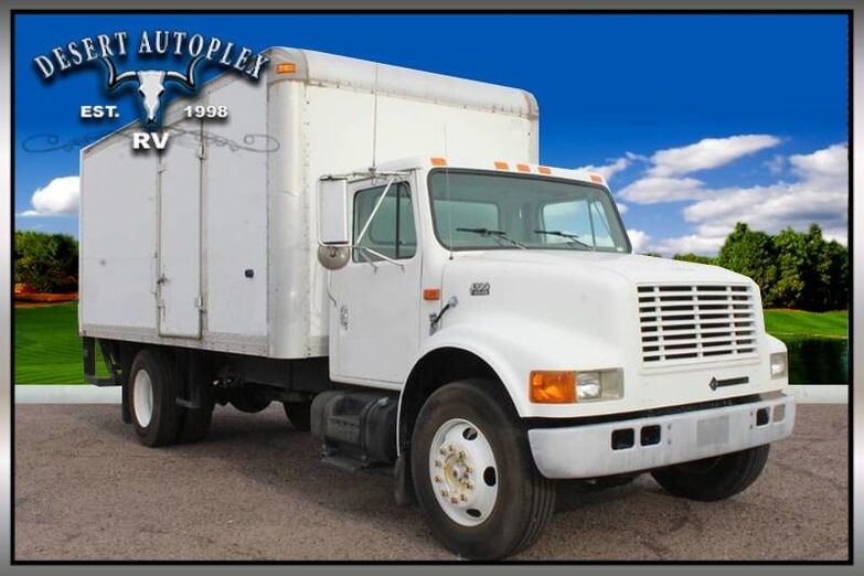 2000 International 4700 Diesel Box Truck Mesa AZ